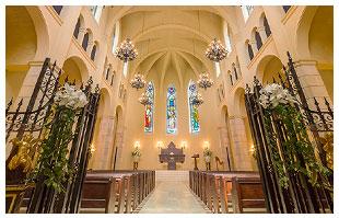 憧れの大聖堂での誓い 写真